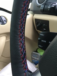 Black leather car steering wheel cover Serdivan-İstiklal, 54055