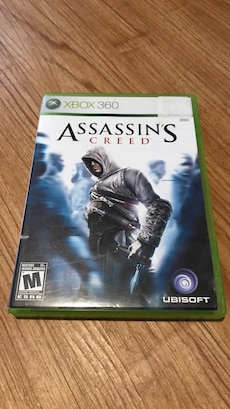 Assassin's Creed Xbox 360 game case