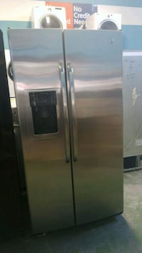 stainless steel side-by-side refrigerator with dispenser Lynwood, 90262
