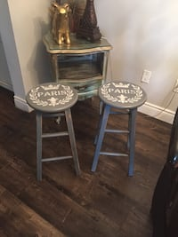 Pine painted bar hight  stool  Mississauga, L5N