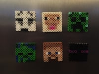Son is making these fridge magnets MINECRAFT he can make custom orders Nanaimo, V9V 1K4