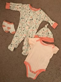Unisex baby outfit 4piece set Owings Mills, 21117