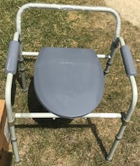 gray and black commode chair Chicago Heights