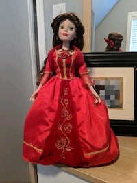 Disney Belle porcelain doll Mississauga