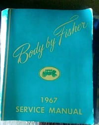 Body by Fisher 1967 Service Manual Empire, 95319