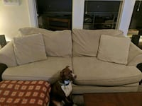 Couch and oversized chair / ottoman Pitman, 08071