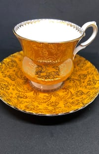 Elizabethan Teacup and Saucer  Toronto, M2N 5P7