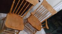 4 Pine Chairs NEWMARKET
