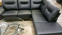 BRAND NEW IN THE BOX GENUINE LEATHER SECTIONAL  Surrey, V3W 4M9