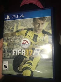 Fifa 17 PS4 game case