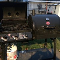 Black and gray gas grill Waterloo