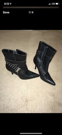 Italian boots size 9 leather  London, N6H 4T6