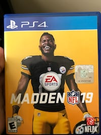 Madden 19 ps4 game Seat Pleasant, 20743