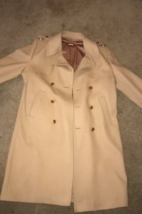 Authentic Wool Websters Peacoat Made In Great Britain 2X