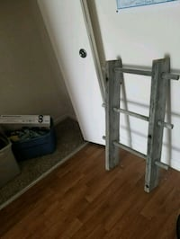 Grey rustic wooden ladder Fort Wayne, 46815