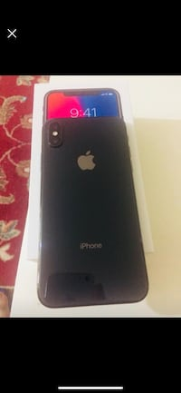 Black iphone X 64 GB  New Westminster, V3M 5Y7