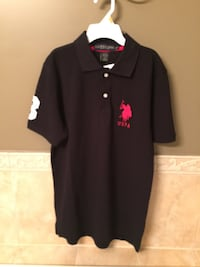 Black and red polo by ralph lauren polo shirt (BRAND NEW) Ottawa, K4A 5G3
