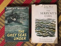 Two Farley Mowat hardcovers-one signed Toronto, M2M 3T9