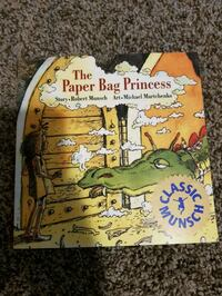 Paperbag Princess book soft cover