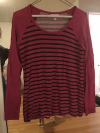 Maternity striped shirt size M New York, 11377