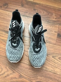 Pair of gray-and-black Addidas Sneakers Mount Airy, 21771