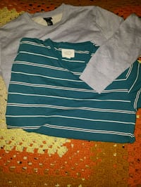 h&m and crew tee lot set  Ontario, 91764