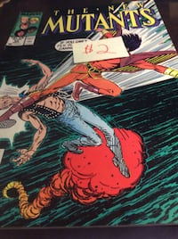 JUST REDUCED comic The New Mutants   Rockville
