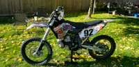KTM 250CC 2T 2008 motocross dirt bike North Vancouver, V7L 3Y6