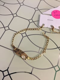 """14k Gold Plated ID Baby Bracelet 6"""" 2mm"""
