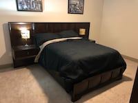 Queen Size bed with mattress included and entertainment chest Woodbridge, 22191