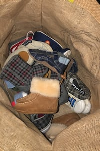 Baby boy shoes size 1 and 2 - Uggs and Robeez included London, N6J 1T4