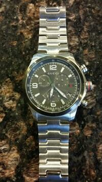 Mens stainless steel Gucci watch Plainville, 06062