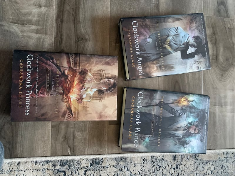 The Infernal Devices 3 book set by Cassandra Clare 72d85a48-741c-4a84-9d97-43c4d6f6f177