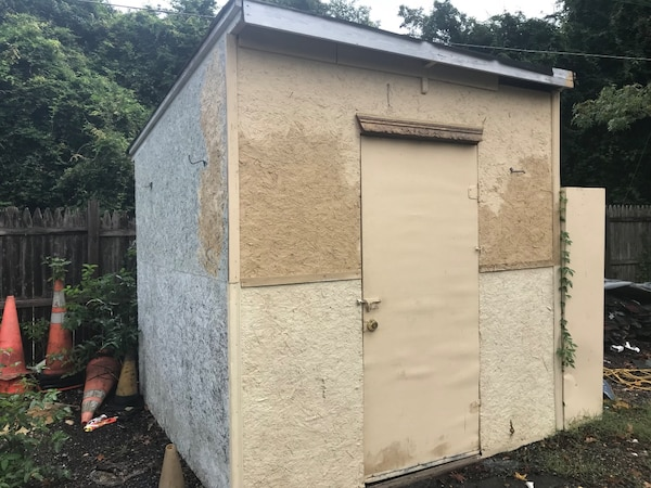$50 wooden shed
