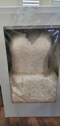 Ivory Champagne Laced wedding dress  Brampton, L6R 2Y4