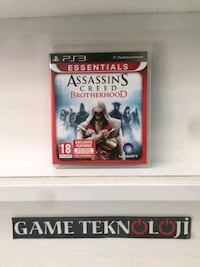 PS3 ASSASSINS CREED BROTHERHOOD 15TL GAMETEKNOLOJI Kılıç Reis Mahallesi, 35280