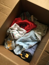 Box of Baby Clothes Newborn to 9M Santa Fe Springs, 90670