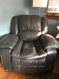 Brown Leather Recliner from Ashley's  Mechanicsville, 23111