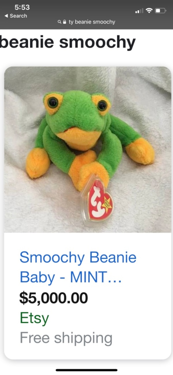 45e1ca7cfa5 Used Green and yellow frog plush toy for sale in Westfield - letgo