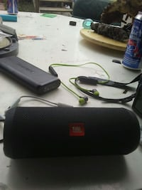 black and gray JBL portable speaker St. Catharines, L2R