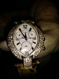 Balmain diamond wrist watch
