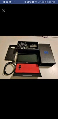 black and red Nintendo DS with case Mississauga, L5L 2S3