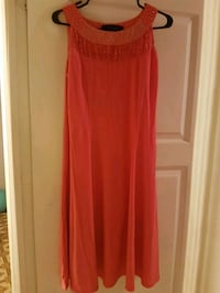 women's red spaghetti strap dress Toronto, M6P 3W2