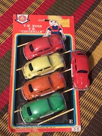 Rare brand new package of Arkin AOK VW Beetle toys 551 km