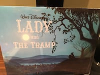 Disney Lady & the Tramp Exclusive Lithographs