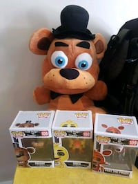 five nights at Freddie's plushi and funko pops Winnipeg, R3B 1E7