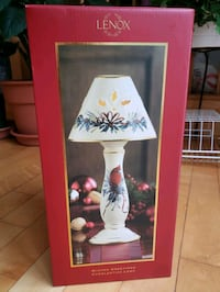 Lenox Winter Greetings Holiday Candlestick Lamp -