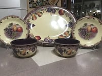 Display plates  and bowls,  Selden, 11784