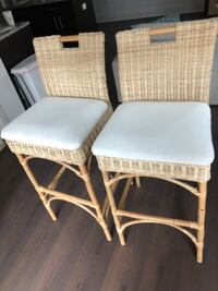 Pair of barstools  SILVERSPRING