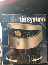 Tie system to organize your ties.  New York, 10465
